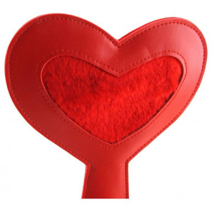 Шлепалка в форме сердца