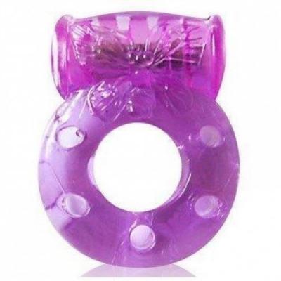 Эрекционное кольцо c вибрацией - BI-8745