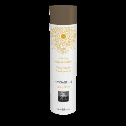 Масло из зародышей пшеницы - Massage oil seductive - Ylang Ylang & Wheat germ oil 100 мл