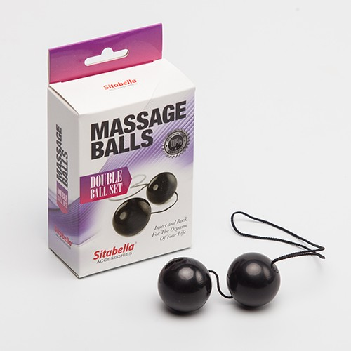 Вагинальные шарики - Sitabella Massage Balls Double Ball Set